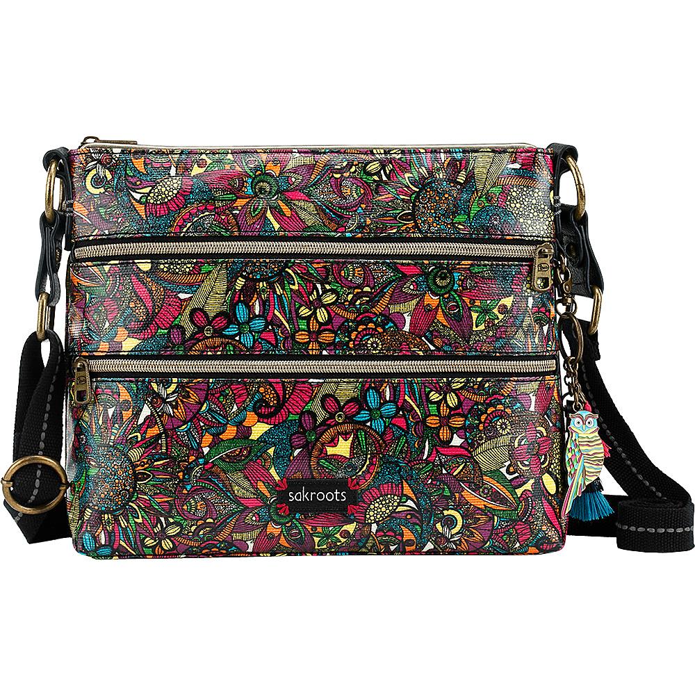 Sakroots Artist Circle Basic Crossbody Rainbow Spirit Desert - Sakroots Fabric Handbags - Handbags, Fabric Handbags