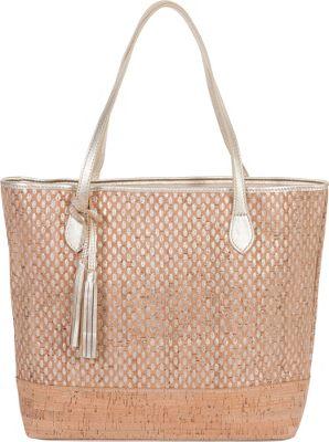 BUCO Large Cork Tote Gold - BUCO Leather Handbags