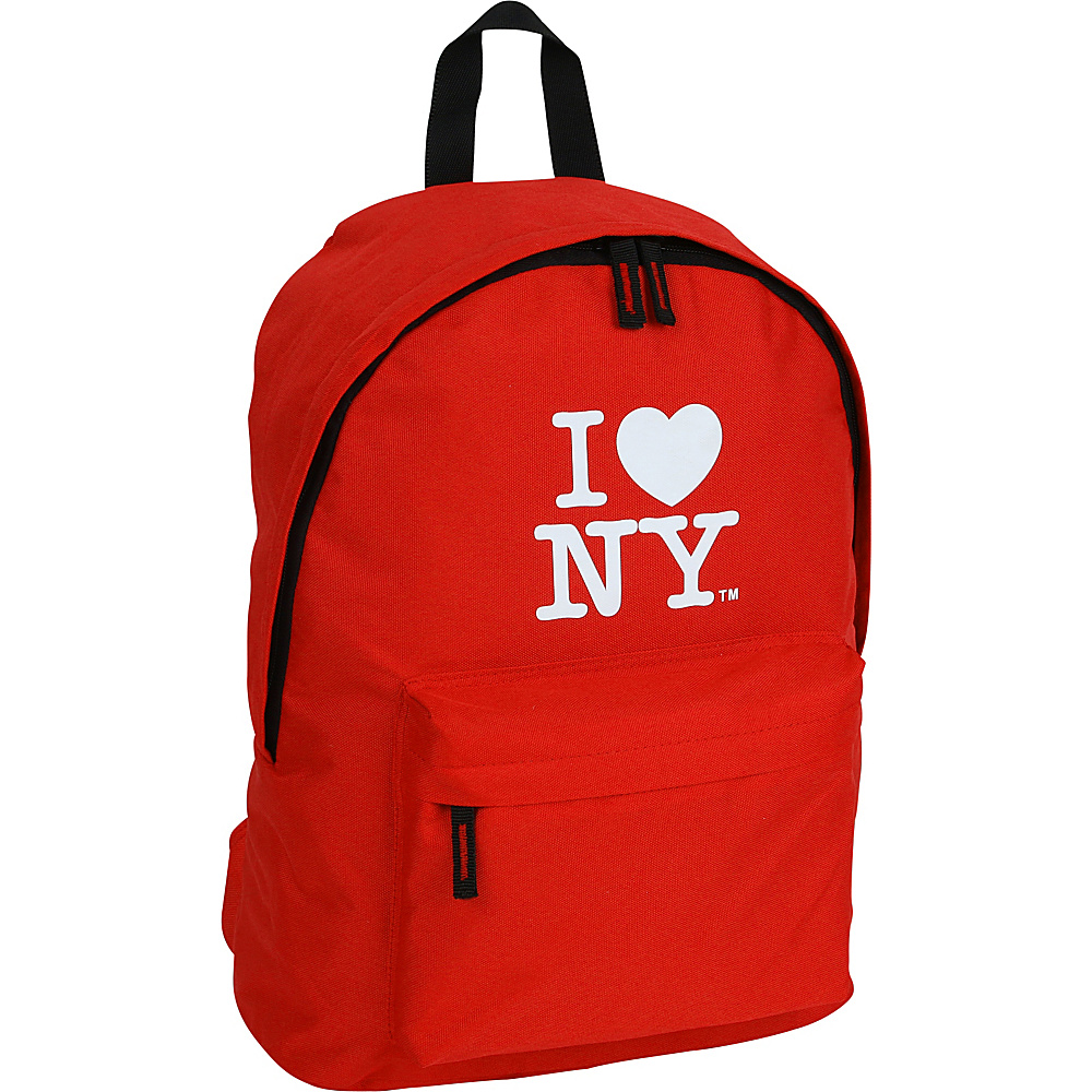 J World New York ILNY Backpack Red - J World New York Everyday Backpacks - Backpacks, Everyday Backpacks