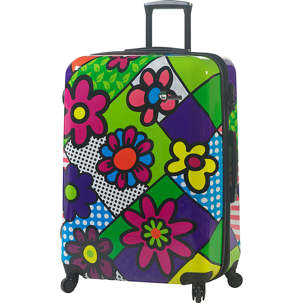 Mia Toro ITALY Flowery 28 Luggage Multicolor Mia Toro ITALY Hardside Checked