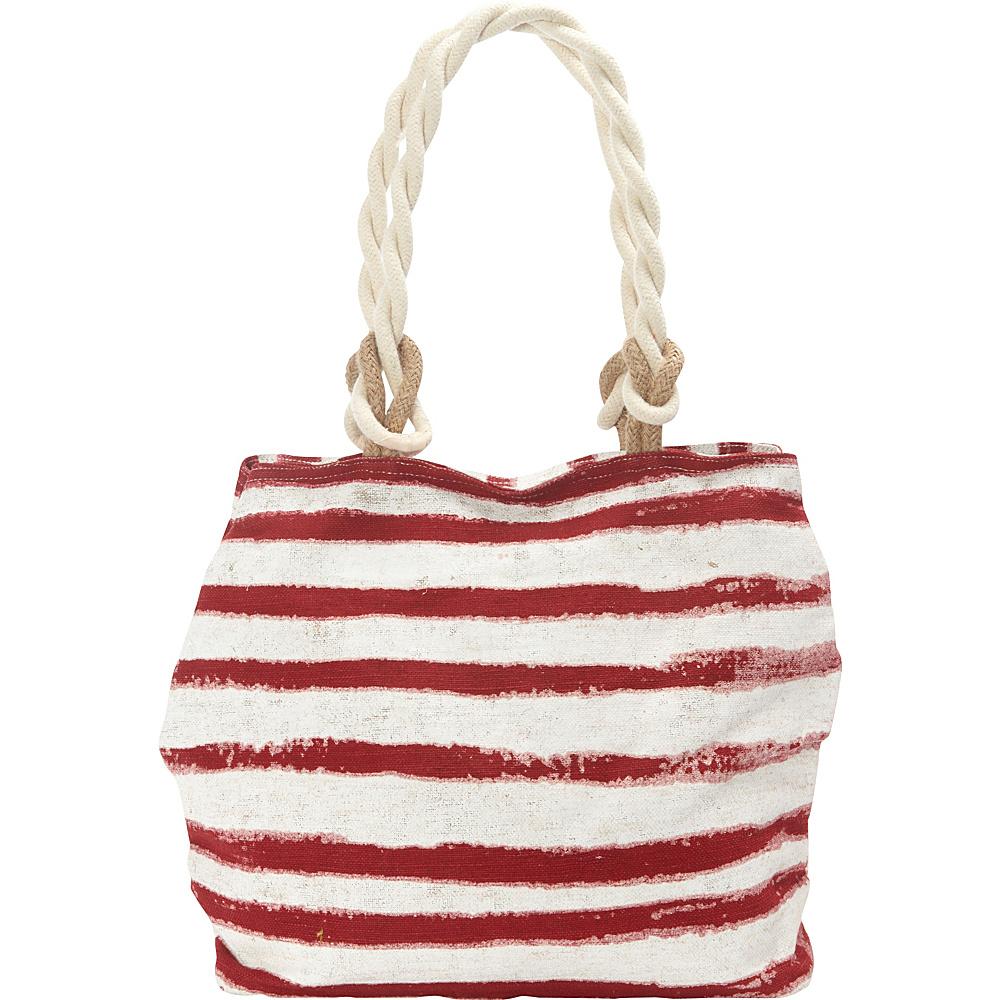 Sun N Sand Ocean Swell Tote Red - Sun N Sand Gym Bags - Sports, Gym Bags