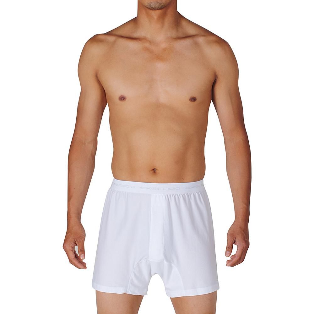 ExOfficio Give-N-Go Boxer S - White - ExOfficio Mens Apparel - Apparel & Footwear, Men's Apparel
