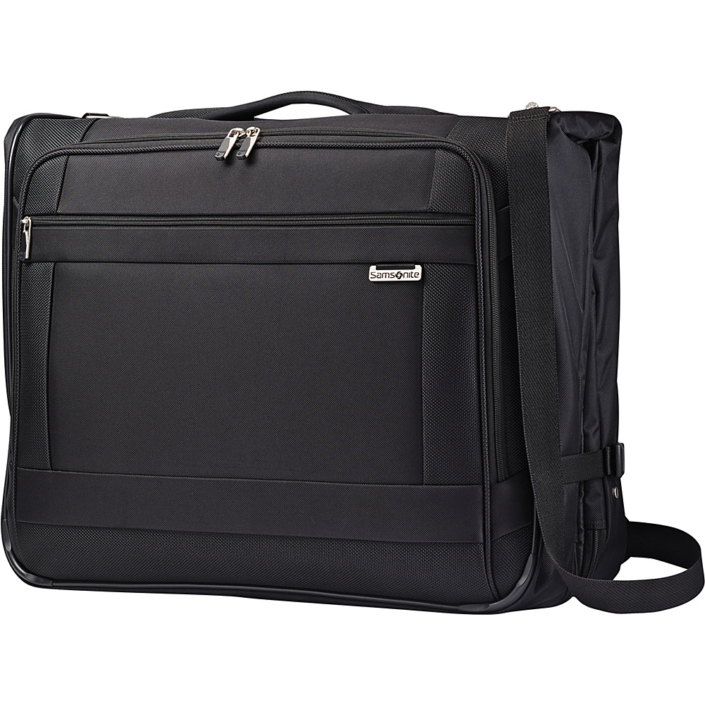 Samsonite SoLyte Ultra Valet Garment Bag Black Samsonite Garment Bags