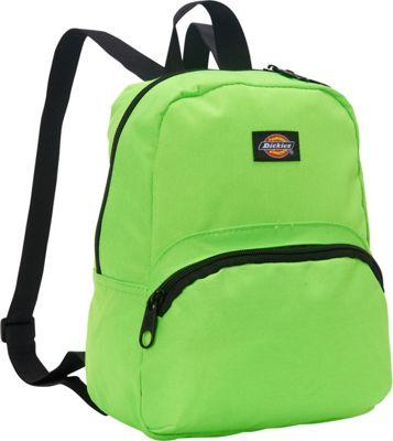 Dickies Mini Mini Festival Backpack Neon Green - Dickies Everyday Backpacks