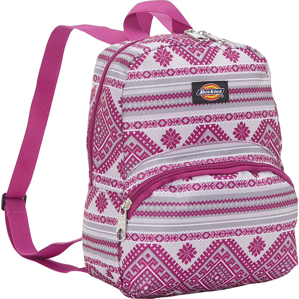 Dickies Mini Mini Festival Backpack Pink Berry Knit Dickies Everyday Backpacks