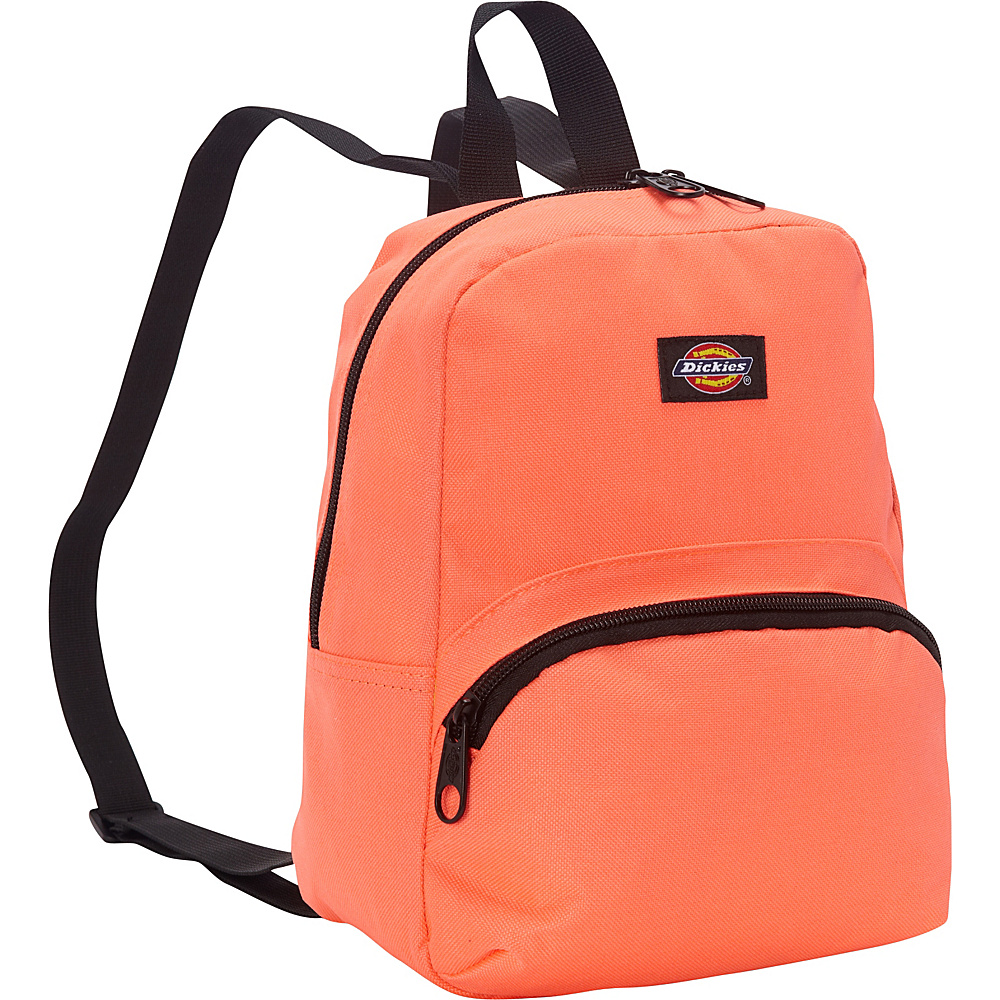 Dickies Mini Mini Festival Backpack Neon Coral Dickies Everyday Backpacks