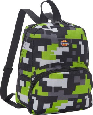 Dickies Mini Mini Festival Backpack Lime/Black Pixel Game - Dickies Everyday Backpacks