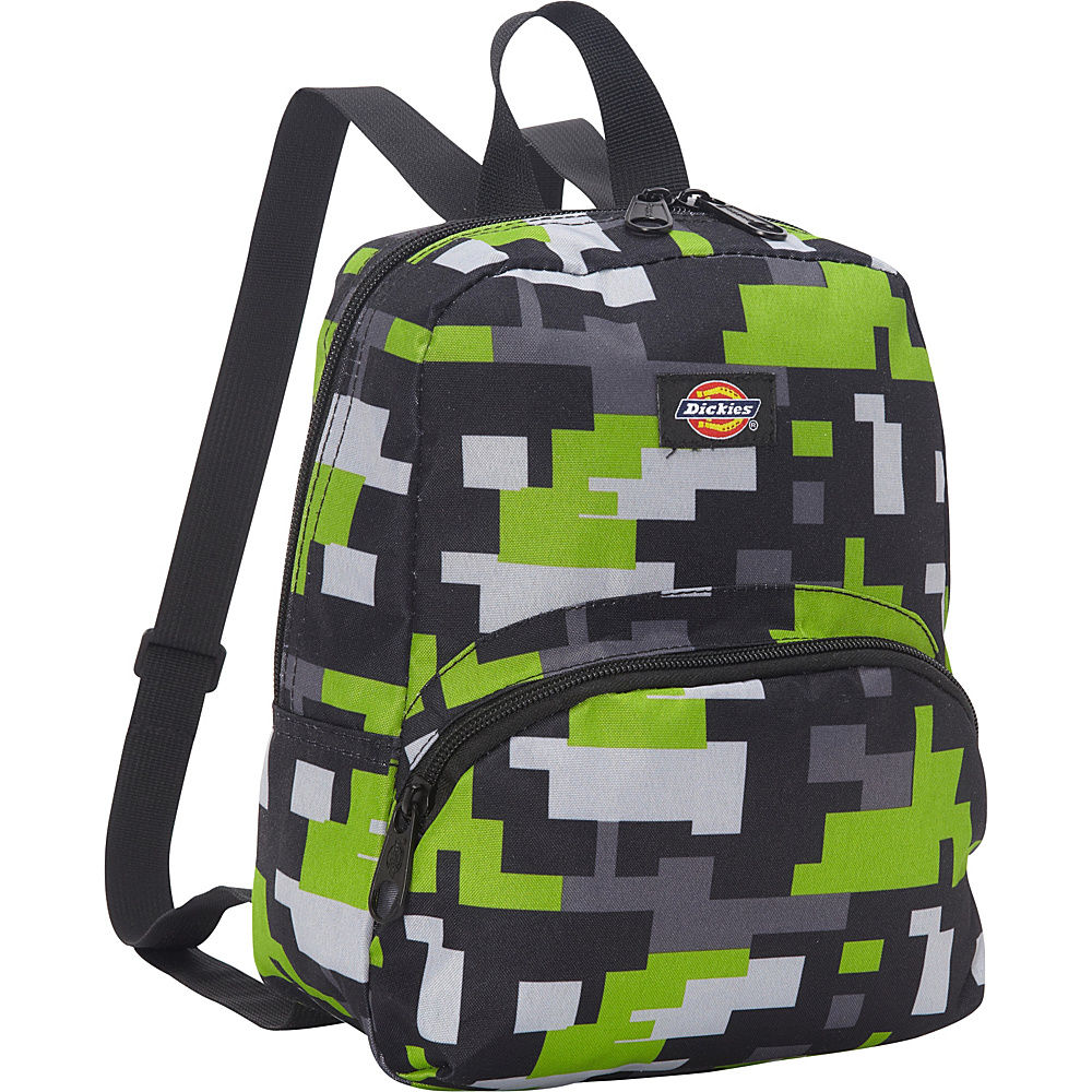 Dickies Mini Mini Festival Backpack Lime Black Pixel Game Dickies Everyday Backpacks
