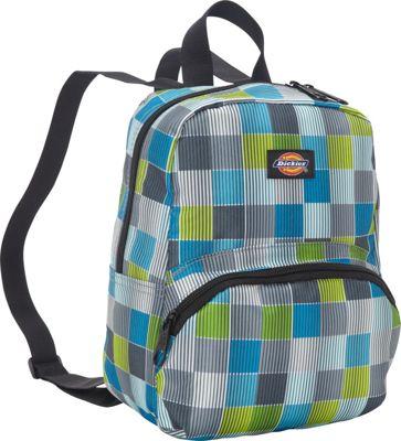 Dickies Mini Mini Festival Backpack Stripe Squares - Dickies Everyday Backpacks