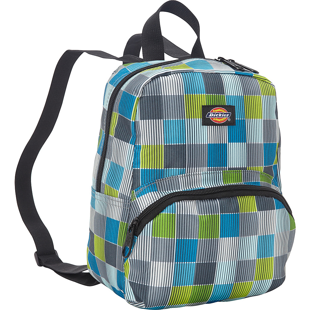 Dickies Mini Mini Festival Backpack Stripe Squares Dickies Everyday Backpacks