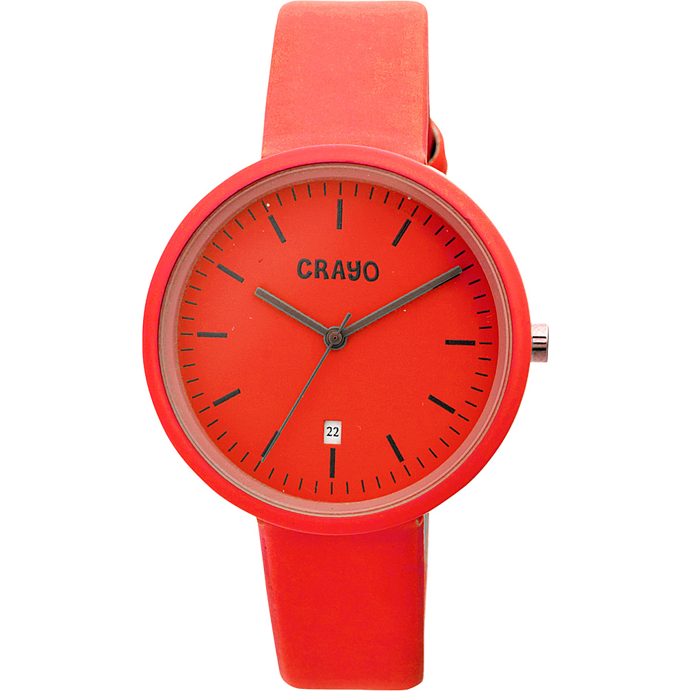 Crayo Easy Ladies Watch Red Crayo Watches