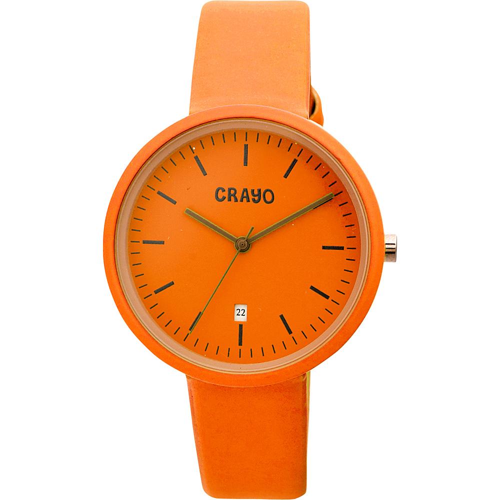 Crayo Easy Ladies Watch Orange Crayo Watches