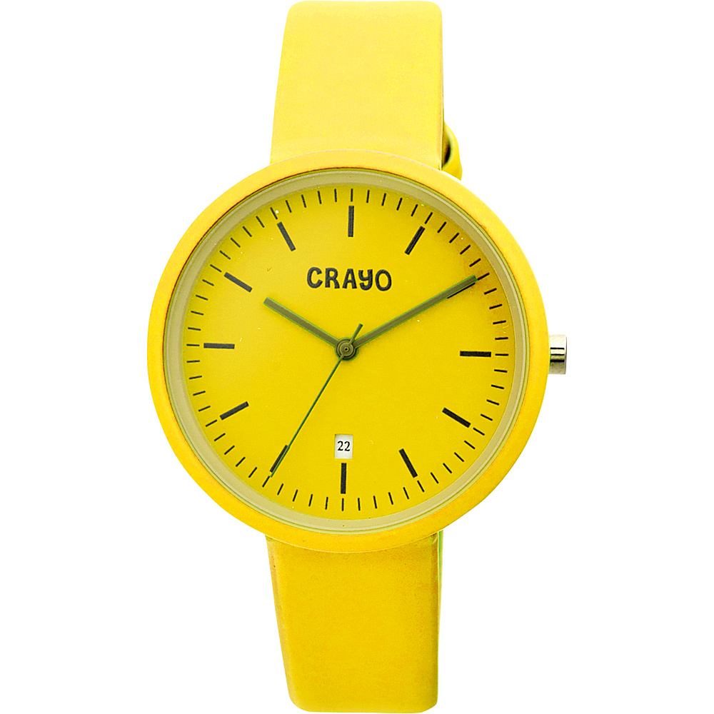 Crayo Easy Ladies Watch Yellow Crayo Watches