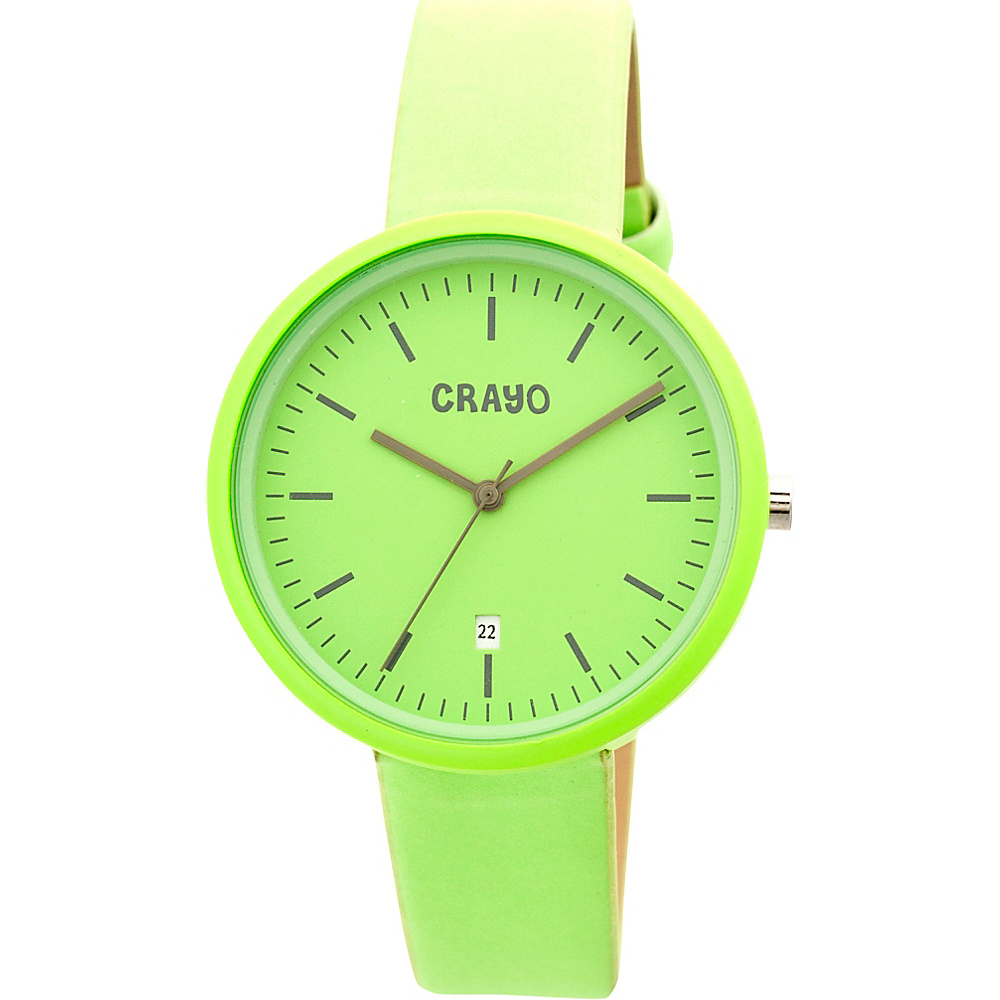 Crayo Easy Ladies Watch Lime Crayo Watches