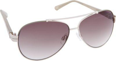Vince Camuto Eyewear VC713 Sunglasses Silver - Vince Camuto Eyewear Sunglasses