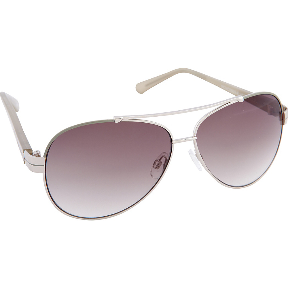 Vince Camuto Eyewear VC713 Sunglasses Silver Vince Camuto Eyewear Sunglasses