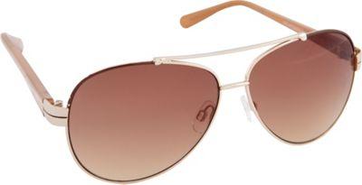 Vince Camuto Eyewear VC713 Sunglasses Gold - Vince Camuto Eyewear Sunglasses