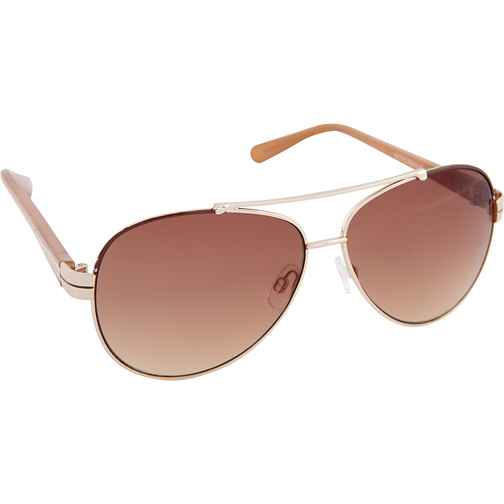 Vince Camuto Eyewear VC713 Sunglasses Gold Vince Camuto Eyewear Sunglasses