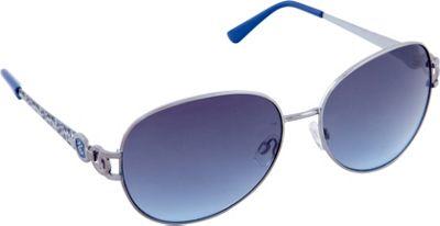Rocawear Sunwear R568 Women's Sunglasses Silver/Blue - Rocawear Sunwear Sunglasses