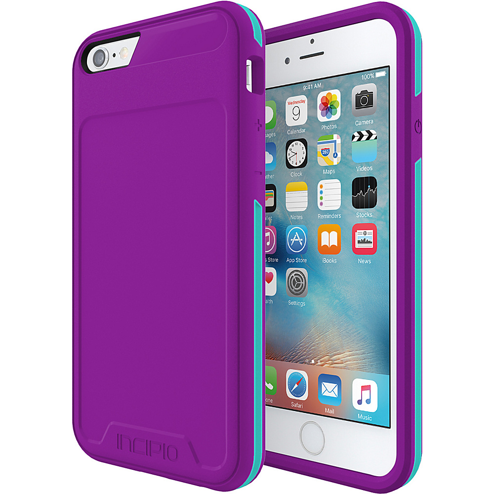 Incipio Performance Series Level 3 for iPhone 6/6s Purple/Teal - Incipio Electronic Cases - Technology, Electronic Cases