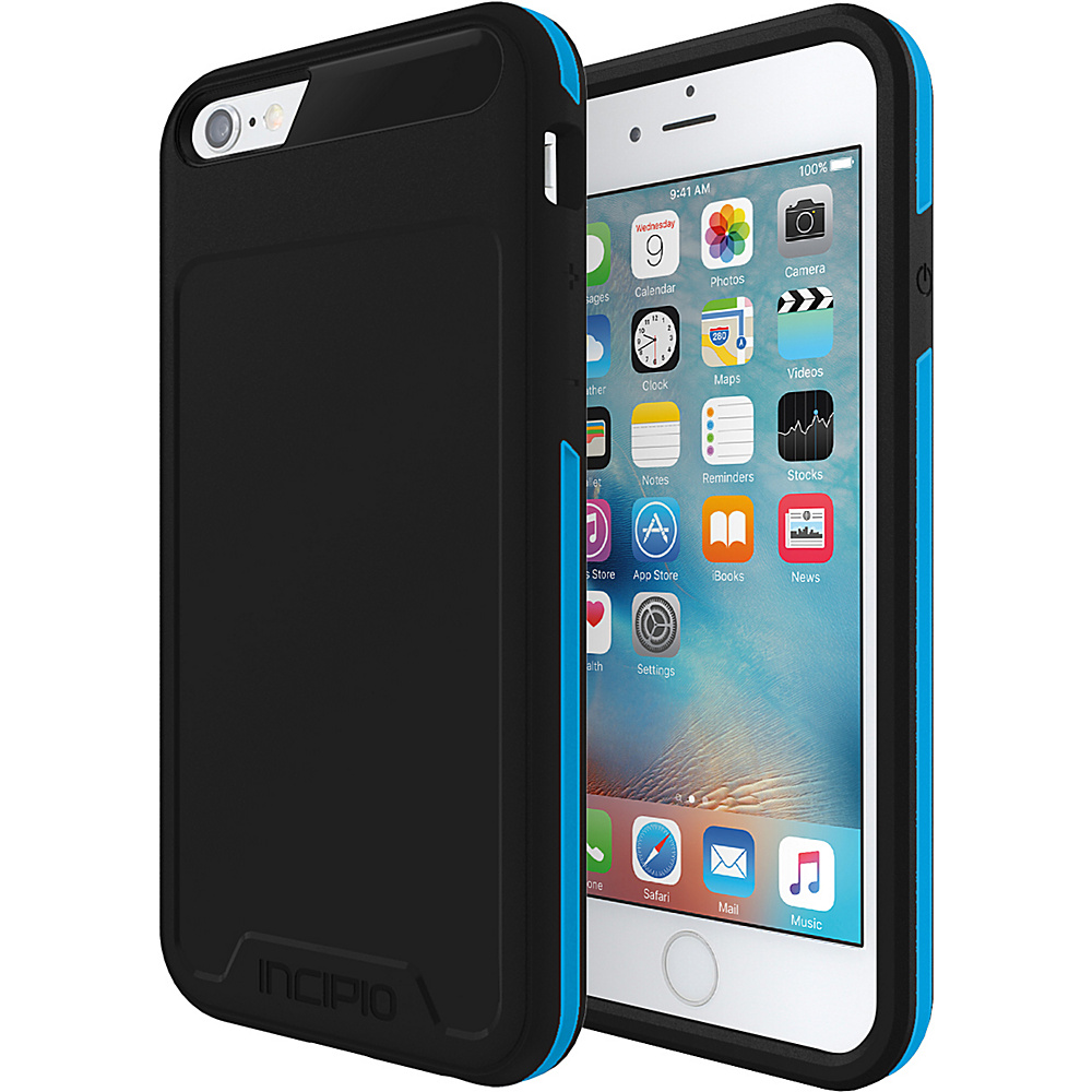 Incipio Performance Series Level 3 for iPhone 6/6s Black/Cyan - Incipio Electronic Cases - Technology, Electronic Cases