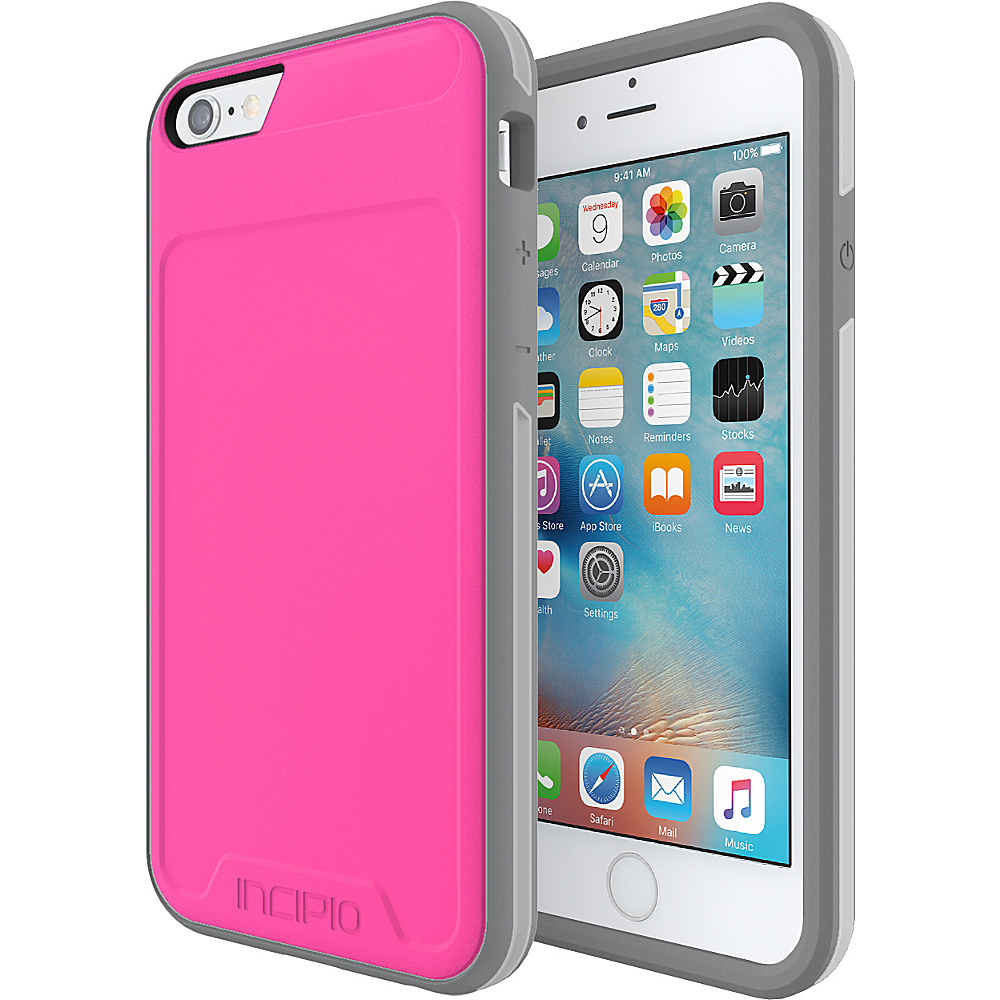 Incipio Performance Series Level 3 for iPhone 6/6s Pink/Gray - Incipio Electronic Cases - Technology, Electronic Cases