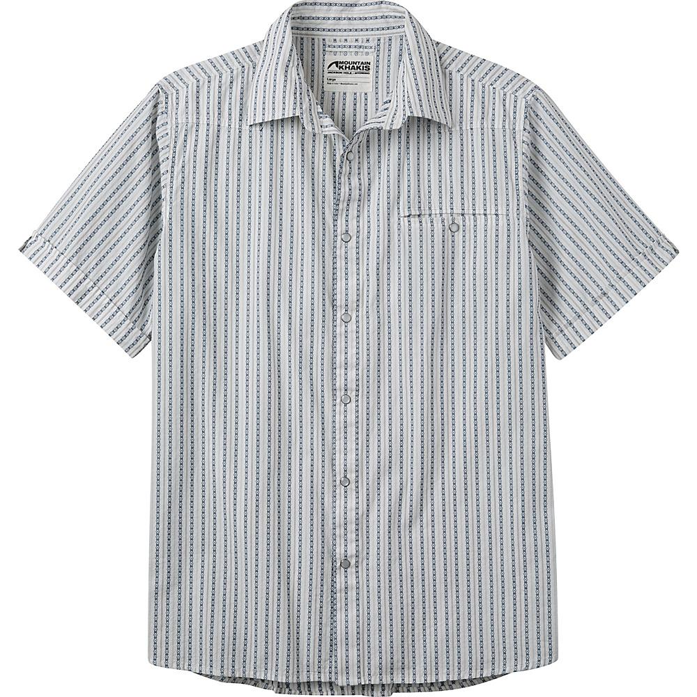 Mountain Khakis El Camino Short Sleeve Shirt M - Linen 17 - Mountain Khakis Mens Apparel - Apparel & Footwear, Men's Apparel