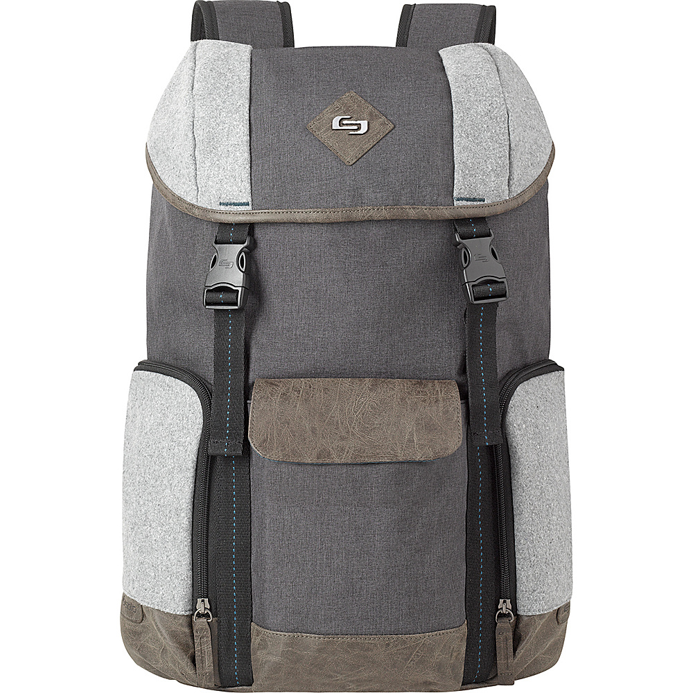 SOLO Nomad 15.6 Backpack Gray SOLO Business Laptop Backpacks