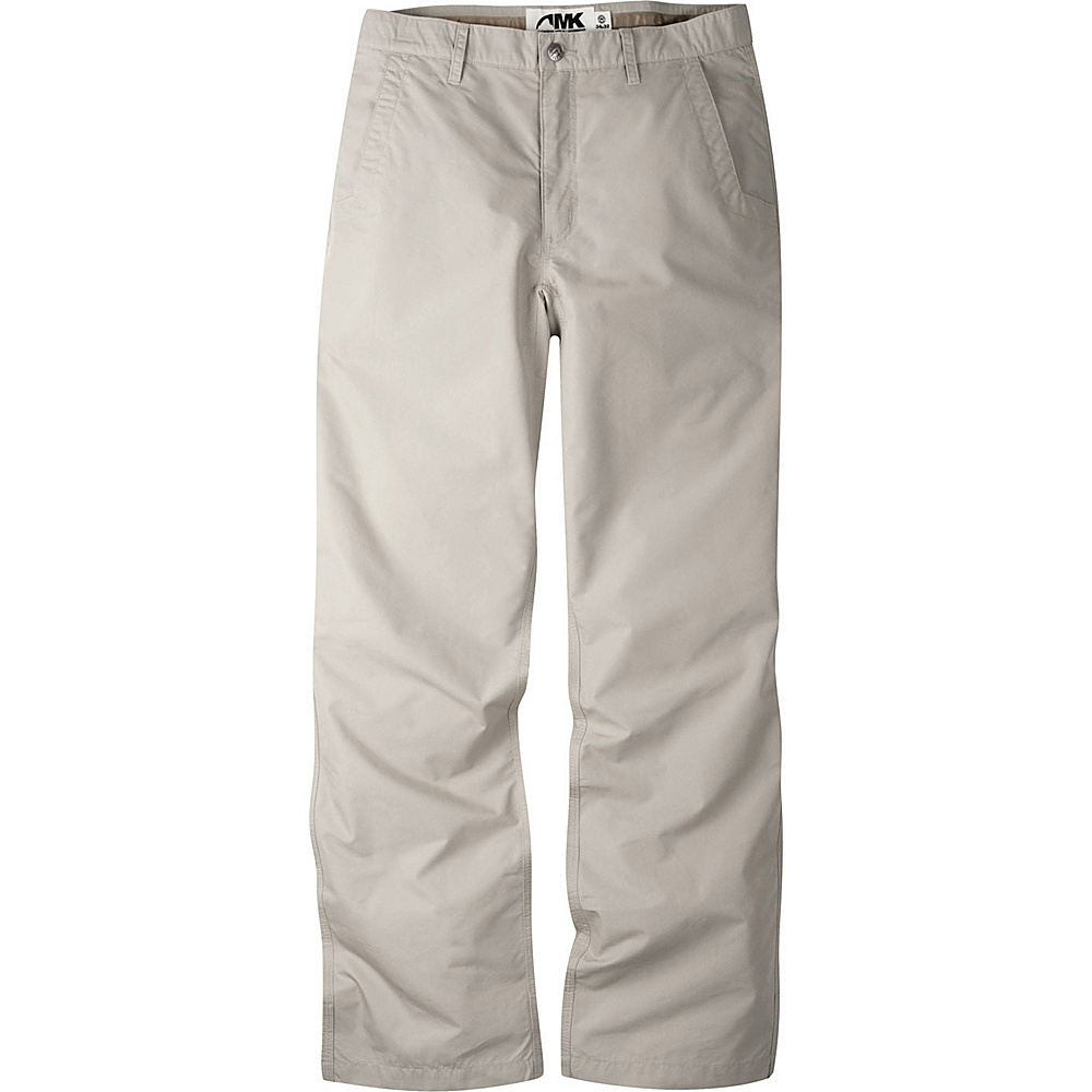 Mountain Khakis Poplin Pants 33 - 32in - Oatmeal - 30W 10in - Mountain Khakis Mens Apparel - Apparel & Footwear, Men's Apparel