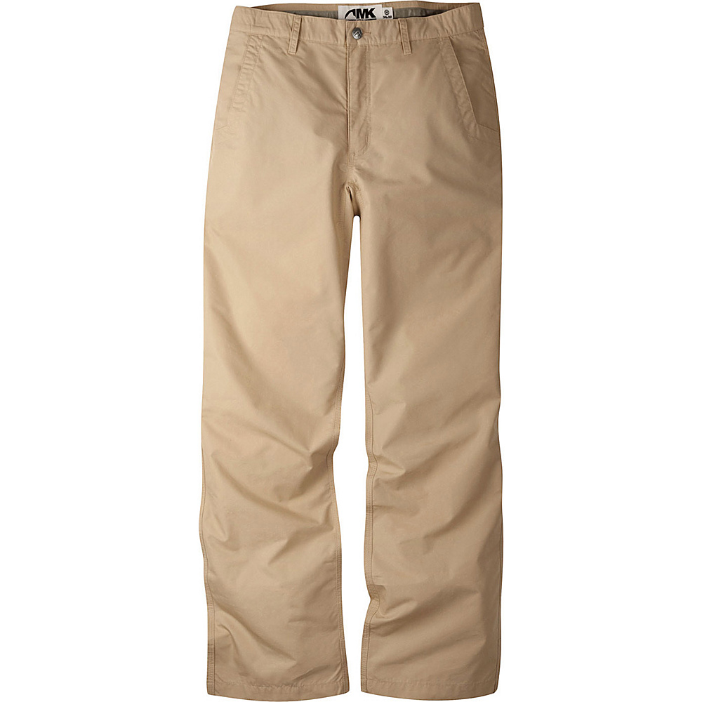 Mountain Khakis Poplin Pants 34 - 36in - Khaki - 10W 18.5in - Mountain Khakis Mens Apparel - Apparel & Footwear, Men's Apparel