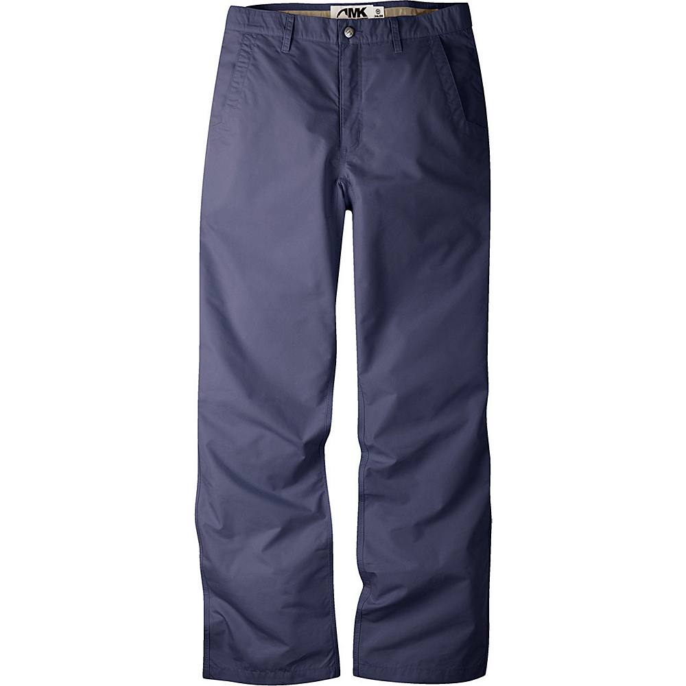 Mountain Khakis Poplin Pants 33 - 34in - Navy - Mountain Khakis Mens Apparel - Apparel & Footwear, Men's Apparel
