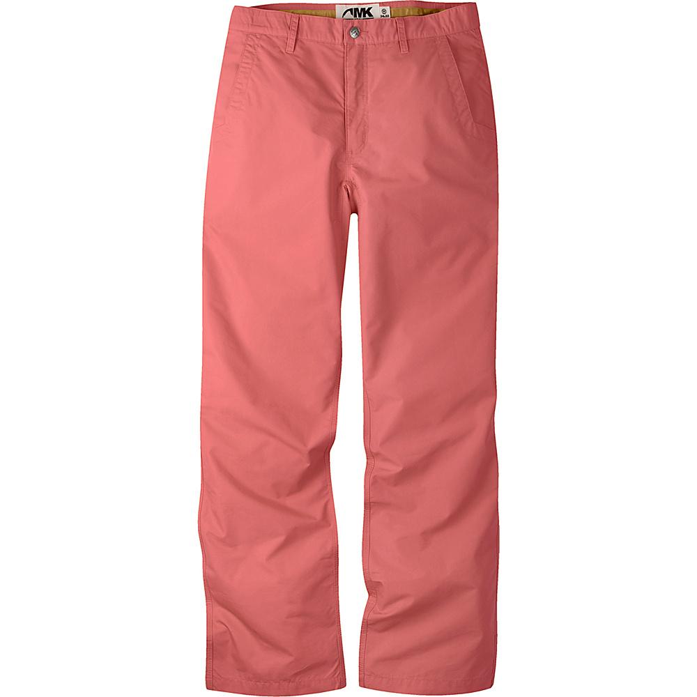 Mountain Khakis Poplin Pants 36 - 34in - Rojo - Mountain Khakis Mens Apparel - Apparel & Footwear, Men's Apparel