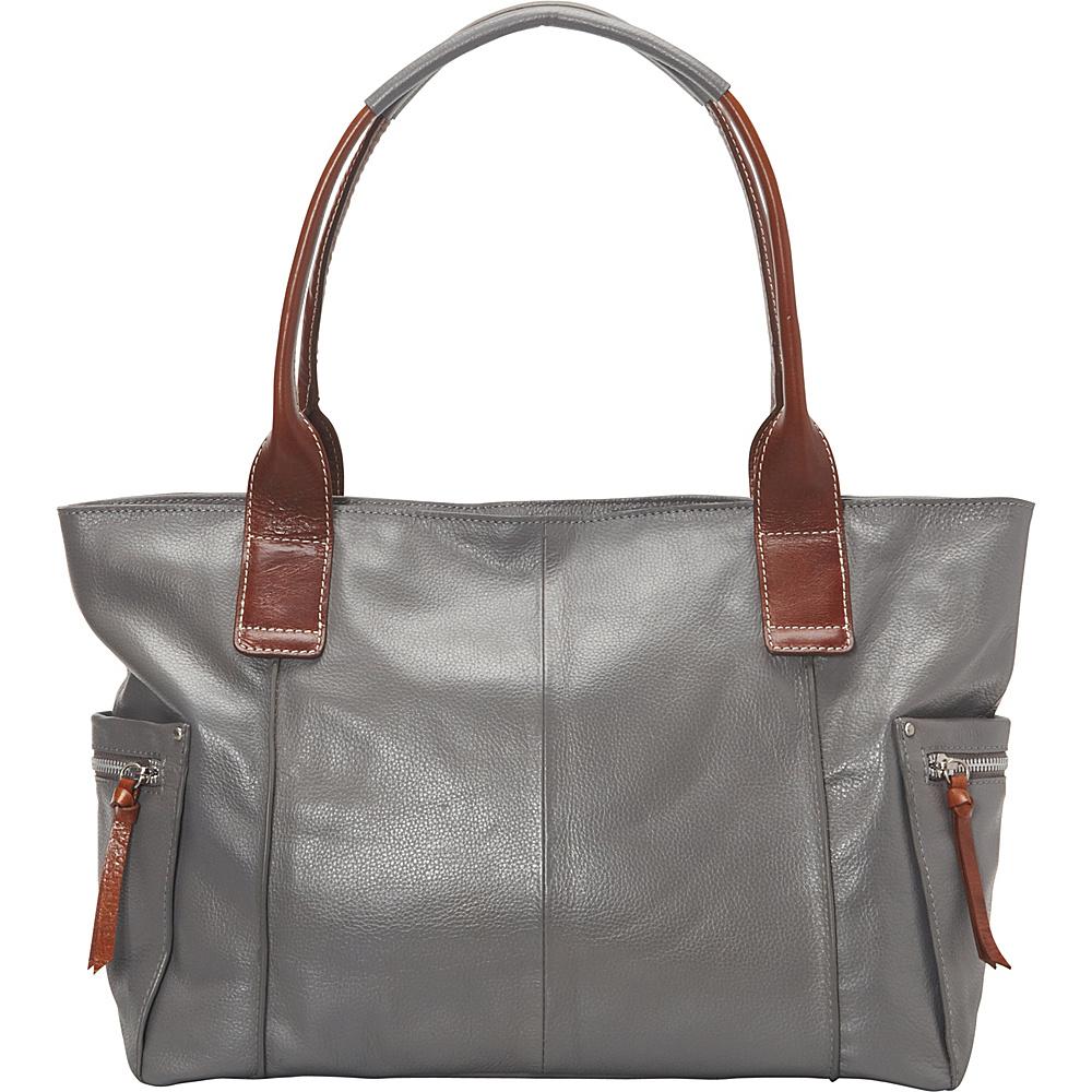 Nino Bossi Oh Cecilia Tote Stone - Nino Bossi Leather Handbags - Handbags, Leather Handbags