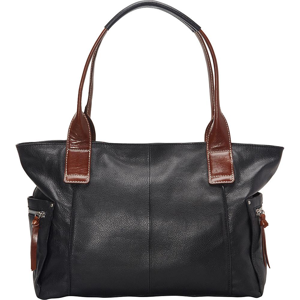Nino Bossi Oh Cecilia Tote Black - Nino Bossi Leather Handbags - Handbags, Leather Handbags