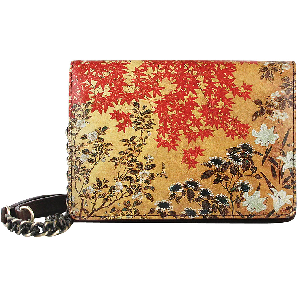 Icon Shoes Small Rectangular Clutch Japanese Screen Icon Shoes Leather Handbags