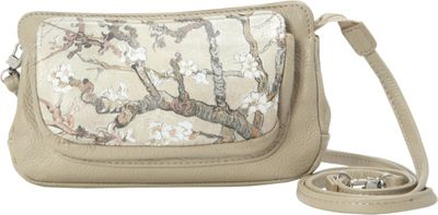 Icon Shoes Small Wallet Bag Almond Branch - Icon Shoes Leather Handbags