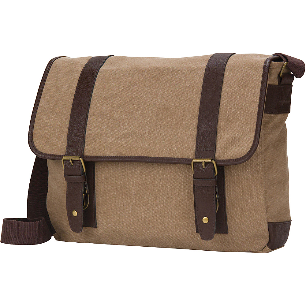 Goodhope Bags The Arlington Computer Tablet Messenger Brown Goodhope Bags Messenger Bags
