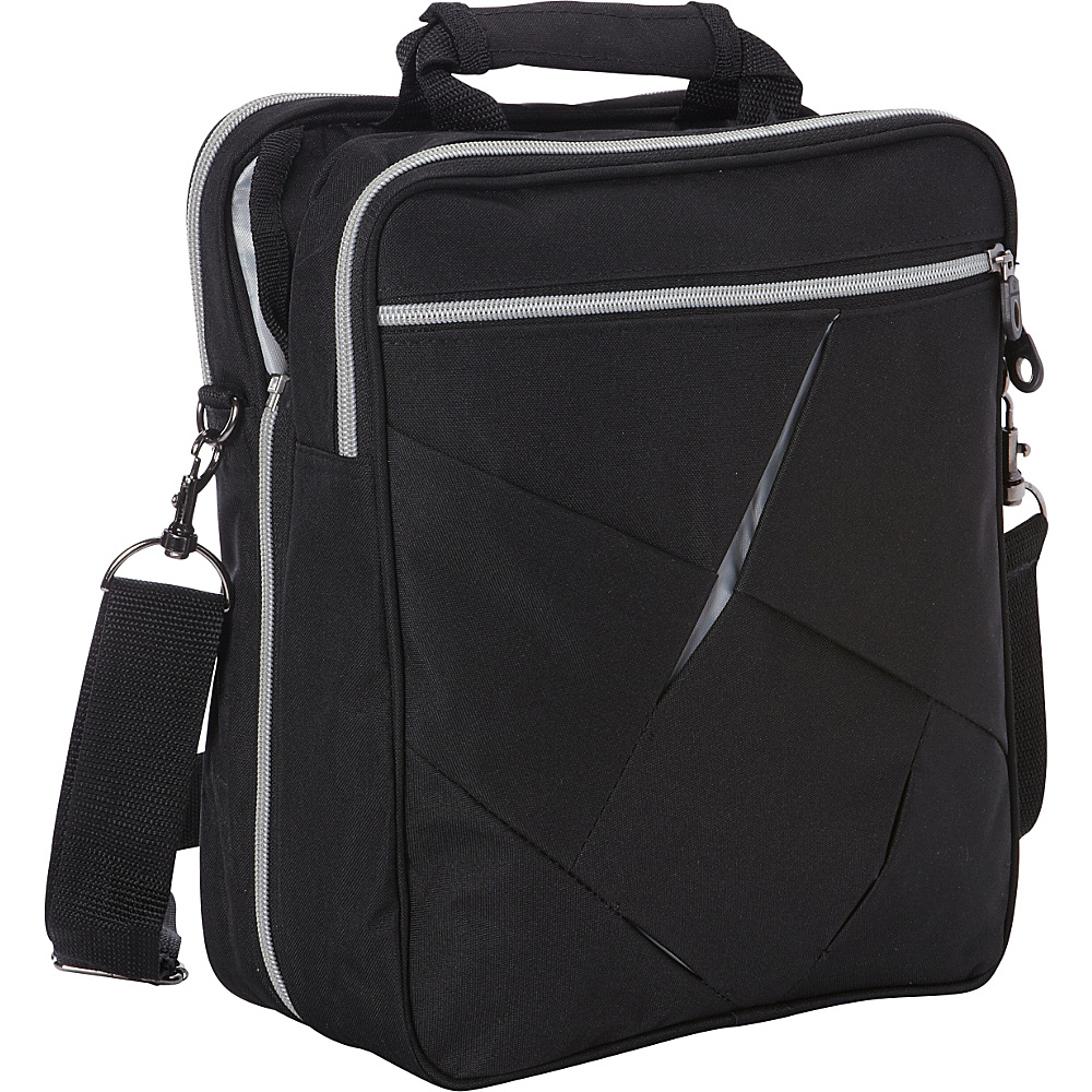 Goodhope Bags 2 in 1 Messenger Bag Black Goodhope Bags Messenger Bags