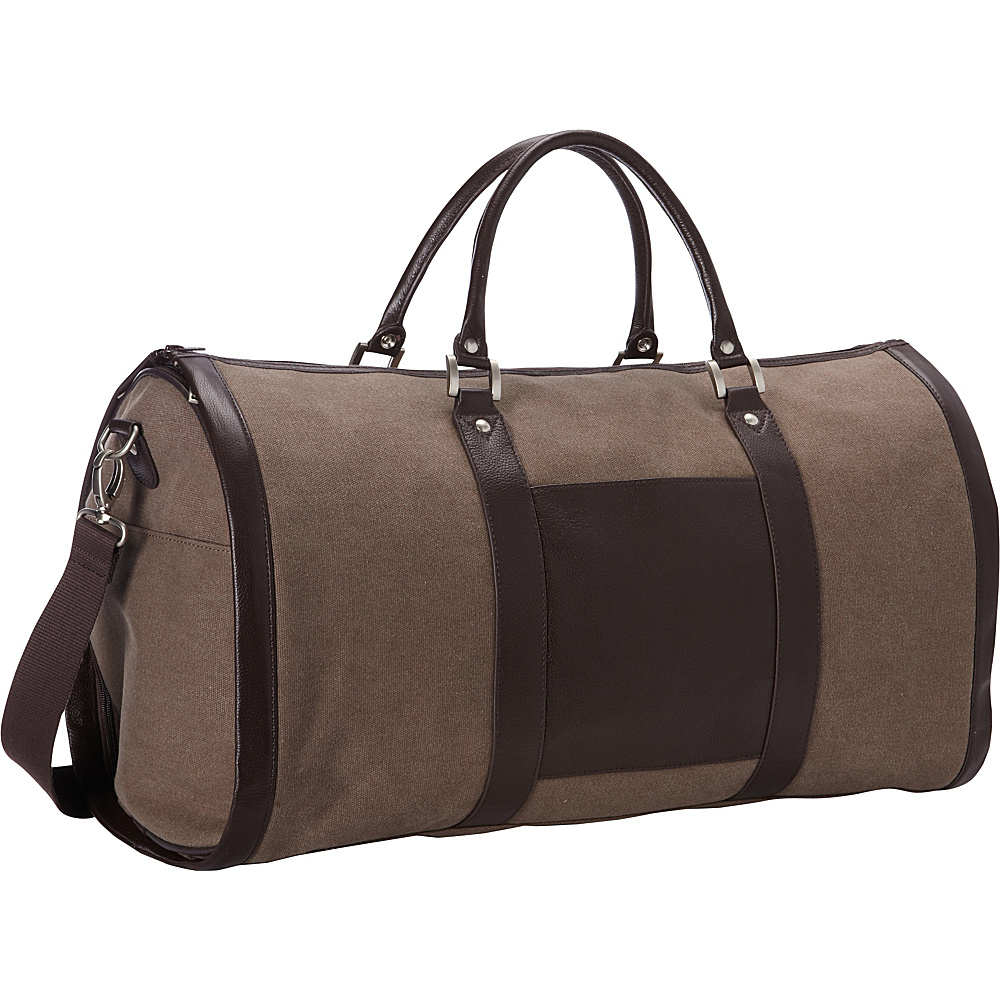Goodhope Bags 2-in-1 Duffel/Garment Bag Sand - Goodhope Bags Garment Bags