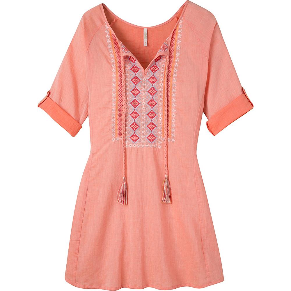Mountain Khakis Sunnyside Tunic Shirt S - Tang - Mountain Khakis Womens Apparel - Apparel & Footwear, Women's Apparel
