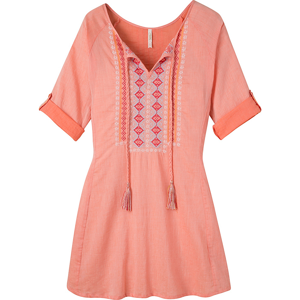 Mountain Khakis Sunnyside Tunic Shirt L - Tang - Mountain Khakis Womens Apparel - Apparel & Footwear, Women's Apparel