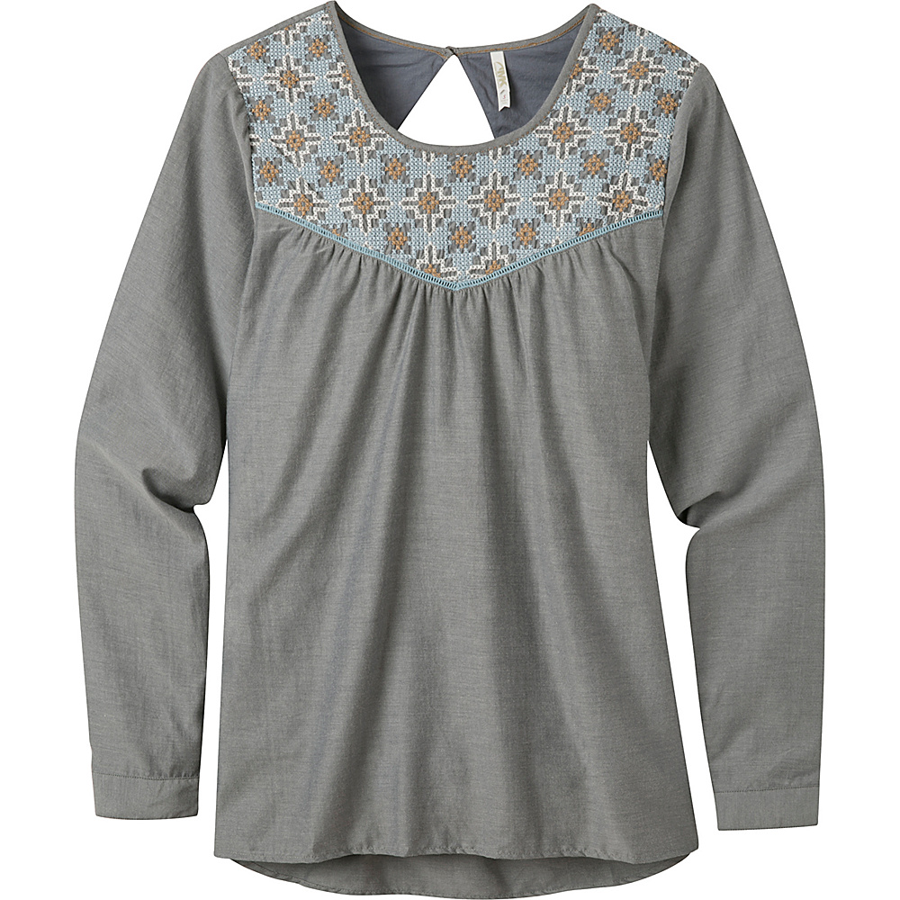 Mountain Khakis Sunnyside Tunic Shirt XS - Navy - Mountain Khakis Womens Apparel - Apparel & Footwear, Women's Apparel