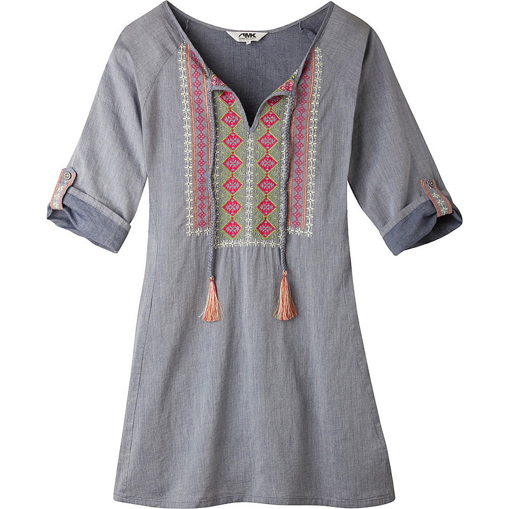 Mountain Khakis Sunnyside Tunic Shirt S - Clear Blue - Mountain Khakis Womens Apparel - Apparel & Footwear, Women's Apparel