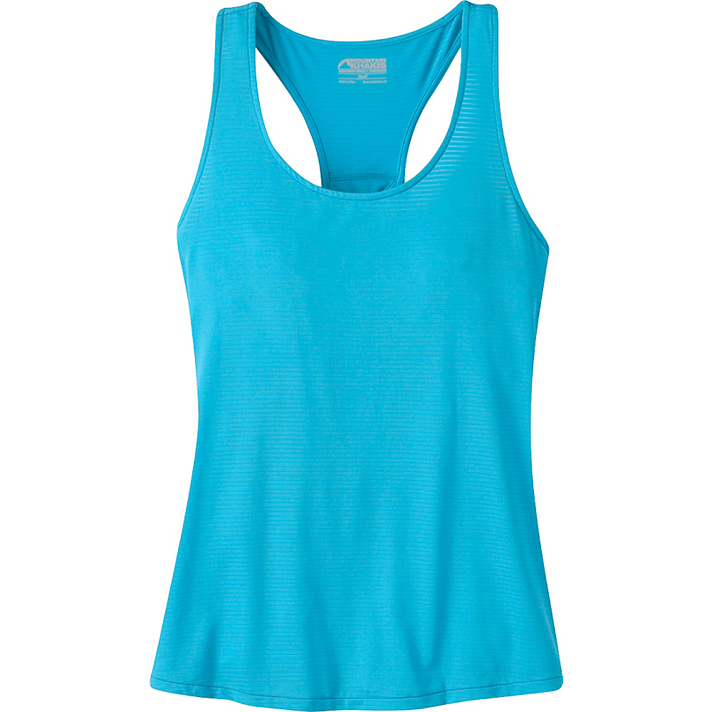 Mountain Khakis Traverse Tank M - Blue Topaz - Mountain Khakis Womens Apparel - Apparel & Footwear, Women's Apparel