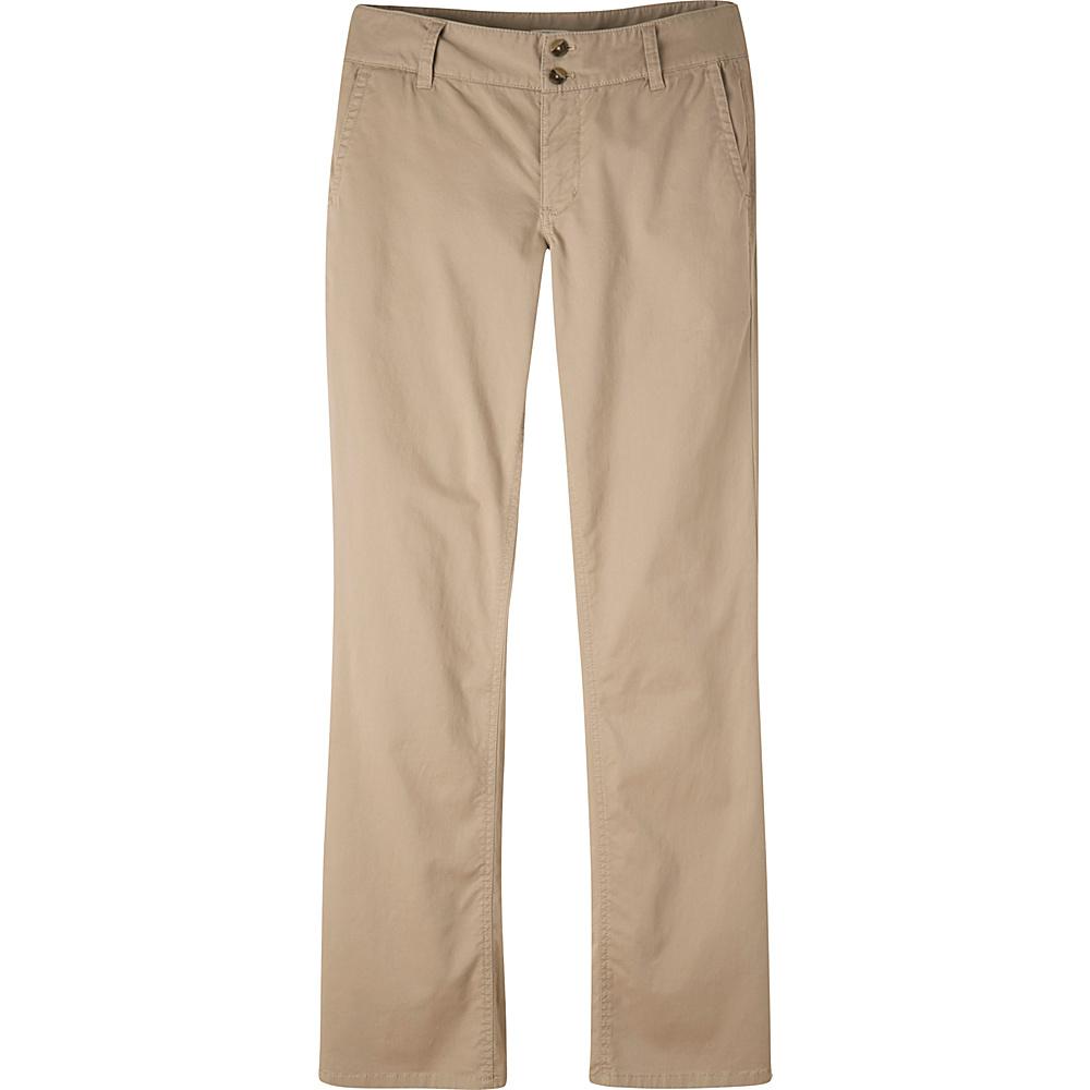 Mountain Khakis Sadie Chino Pant 6 - Regular - Classic Khaki - Mountain Khakis Womens Apparel - Apparel & Footwear, Women's Apparel