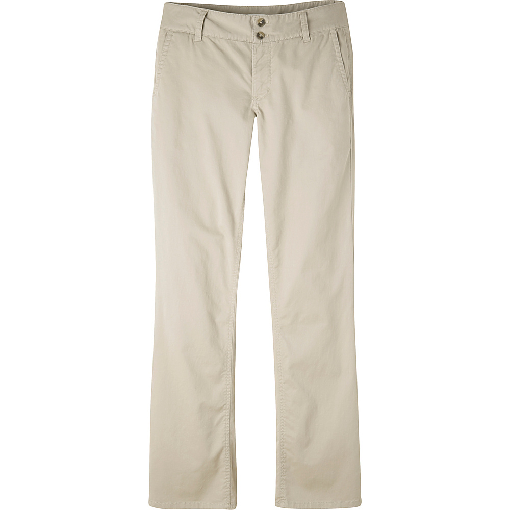 Mountain Khakis Sadie Chino Pant 4 - Regular - Stone - Mountain Khakis Womens Apparel - Apparel & Footwear, Women's Apparel