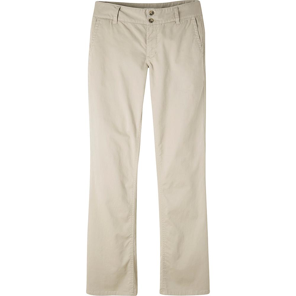 Mountain Khakis Sadie Chino Pant 8 - Regular - Stone - Mountain Khakis Womens Apparel - Apparel & Footwear, Women's Apparel