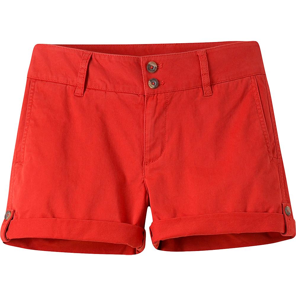 Mountain Khakis Sadie Chino Shorts 6 - 5in - Tomato - 10W 5in - Mountain Khakis Womens Apparel - Apparel & Footwear, Women's Apparel