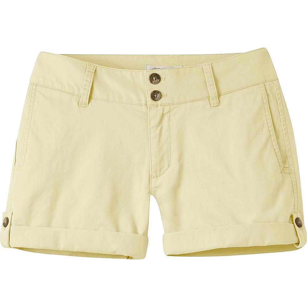 Mountain Khakis Sadie Chino Shorts 6 - 5in - Lemonade - Mountain Khakis Womens Apparel - Apparel & Footwear, Women's Apparel