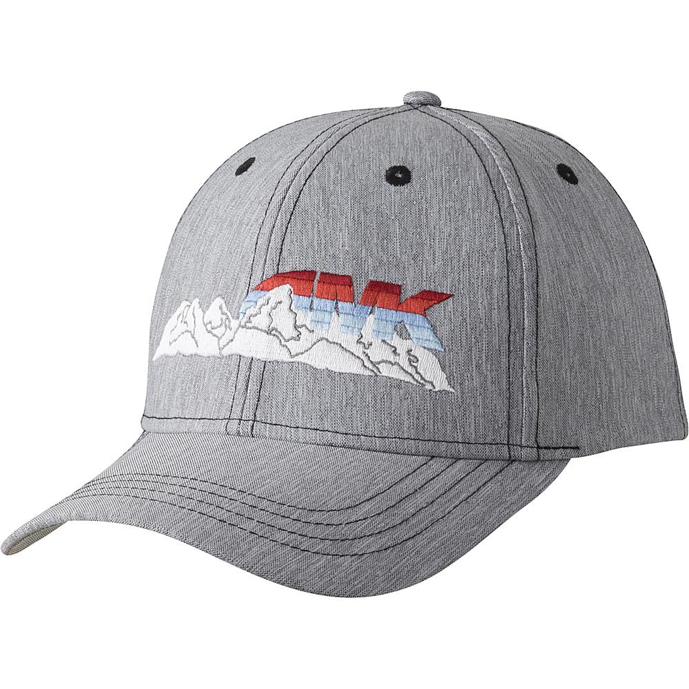 Mountain Khakis Vista Range Flex Fit Cap Cinder L XL Mountain Khakis Hats Gloves Scarves